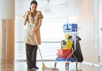 Většina pracovníků úklidu pracuje na částečný úvazek.